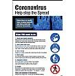 Virus Information Posters & A-Board Snap Frame Bundle