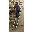 Sealey Trade Aluminium Telescopic Ladder - EN 131