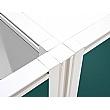 Defense Junction Link for Floor Standing Screens