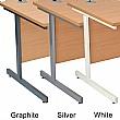 NEXT DAY Karbon K1 Compact Rectangular Cantilever Office Desks