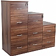 NEXT DAY Karbon Wooden Filing Cabinets