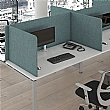 Armor Fabric 3-Sided Freestanding Desktop Screens