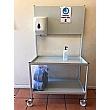 Mobile Hand Sanitiser Station