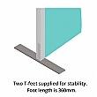 Defense Glazed Floor Standing Screens