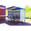 Classic Cycle Shelter - Perforated Sides