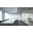 Bianco Square Boardroom Table Extension