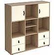 Cubix Trece Home Office Cabinet