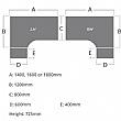 Solar Panel End Ergonomic Desk With Desk High Pedestal