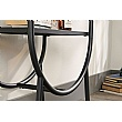Chania Home Office Oval Bookcase