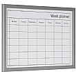 Bi-Office Dry Wipe Weekly Planning Board with Pen