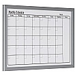 Bi-Office Magnetic Monthly Planner Drywipe Board