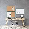 Bi-Office Pastel Combination Board