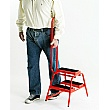 Steptek Wheelalong Double Sided Two Step with Grab Handle