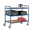 200kg 3 Shelf Trolleys