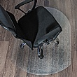 Hard Floor PVC Chair Mats Contoured