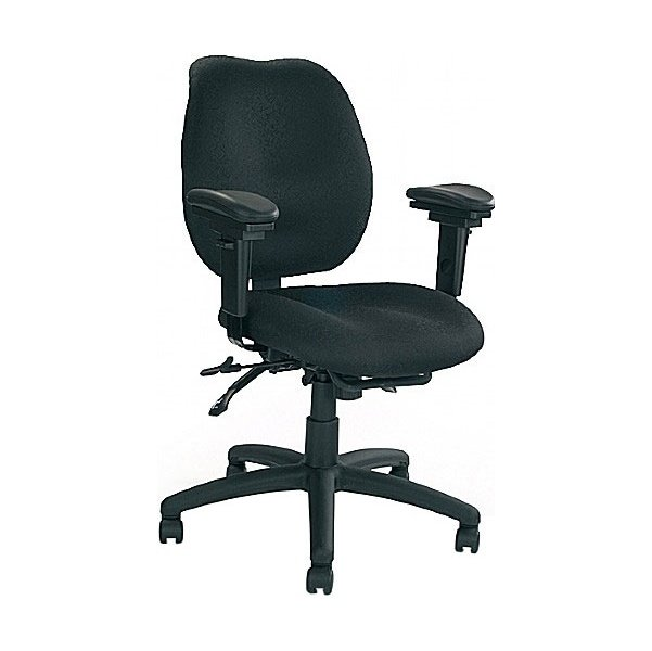 24 Hour Ergonomic Medium Back Operator Chair