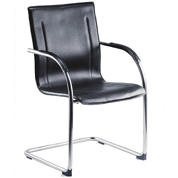 Guest Leather Visitor Chair