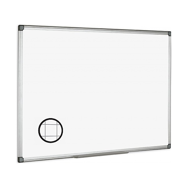 Gridded Drywipe Board Aluminium Frame