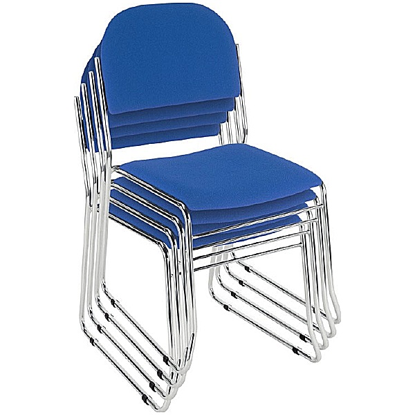 Vesta Chrome Chair Stacked
