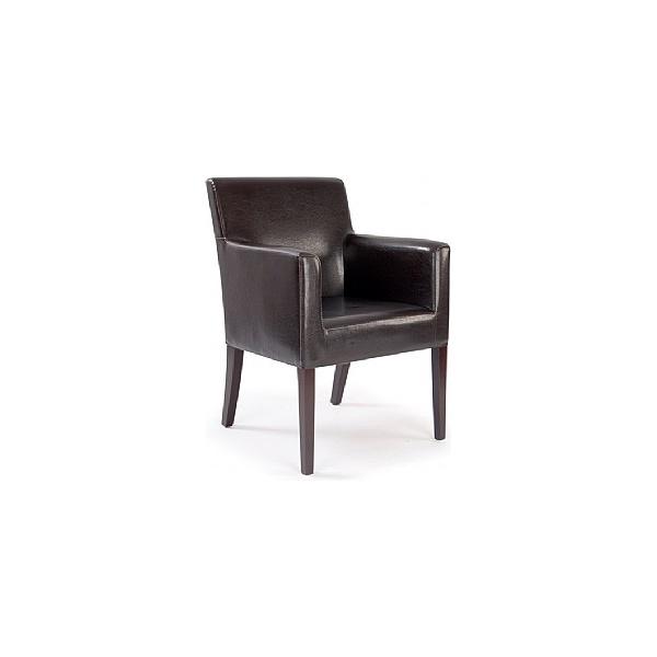 Cambridge Leather Look Armchair