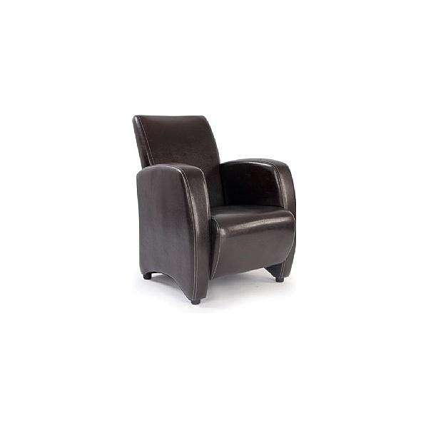 Norfolk Leather Look Armchair