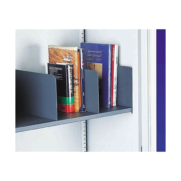 Silverline Slotted Shelf Dividers (Pack of 5)