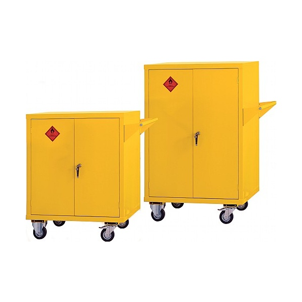 Mobile Flammable Storage Cupboards