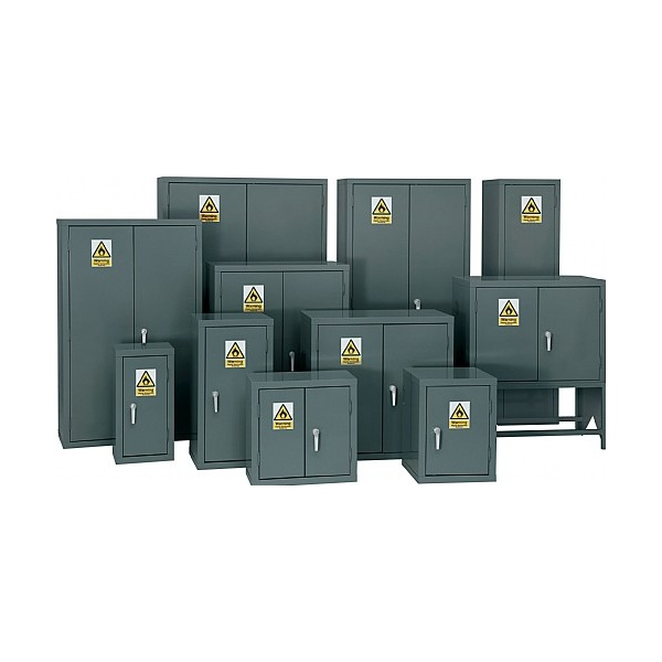 Flammable Storage Cupboards - Grey
