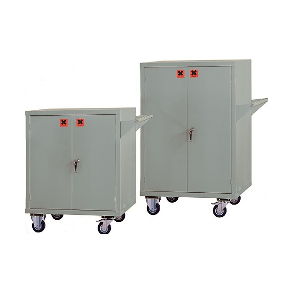 Mobile COSHH Storage Cupboards