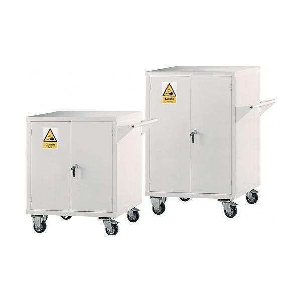 Mobile Acid & Alkali Storage Cupboards