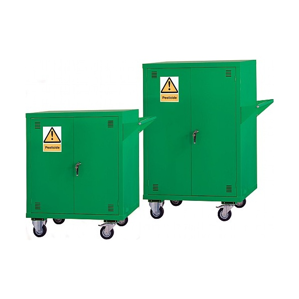 Mobile Agrochemical & Pesticide Storage Cupboards