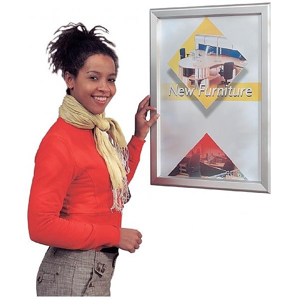 External Tamperproof Poster Frames