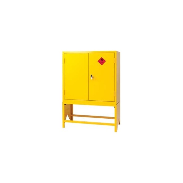 Express Double Door Flammable Liquid Cupboards With Stands