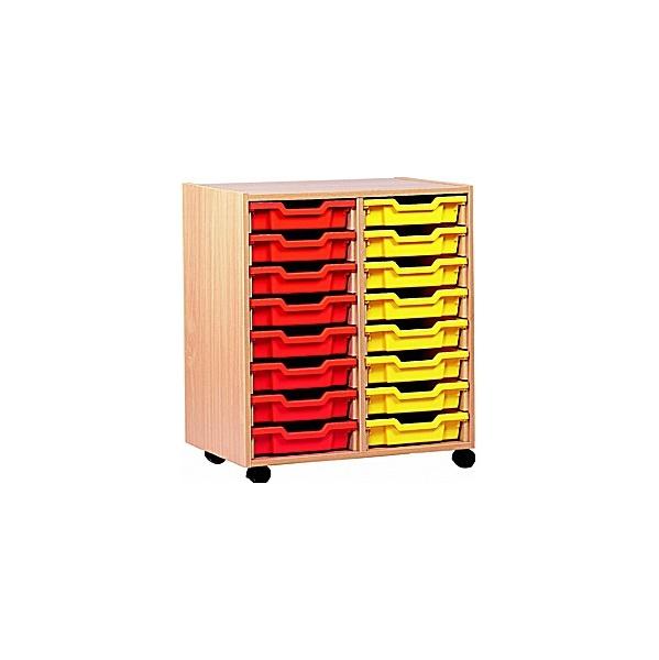 16 Tray Shallow Storage