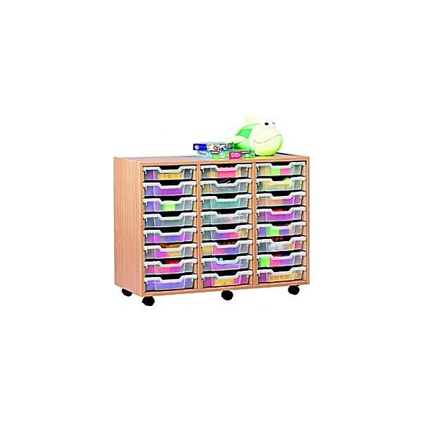 24 Tray Shallow Storage
