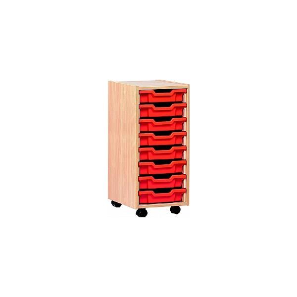 8 Tray Shallow Storage