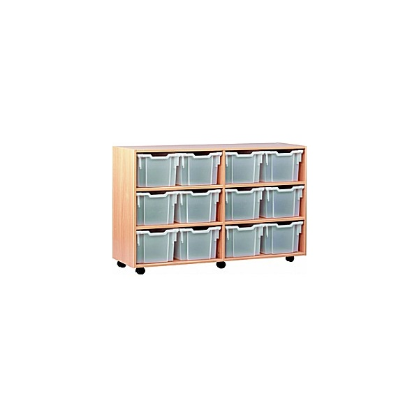 12 Tray Extra Deep Mobile Storage