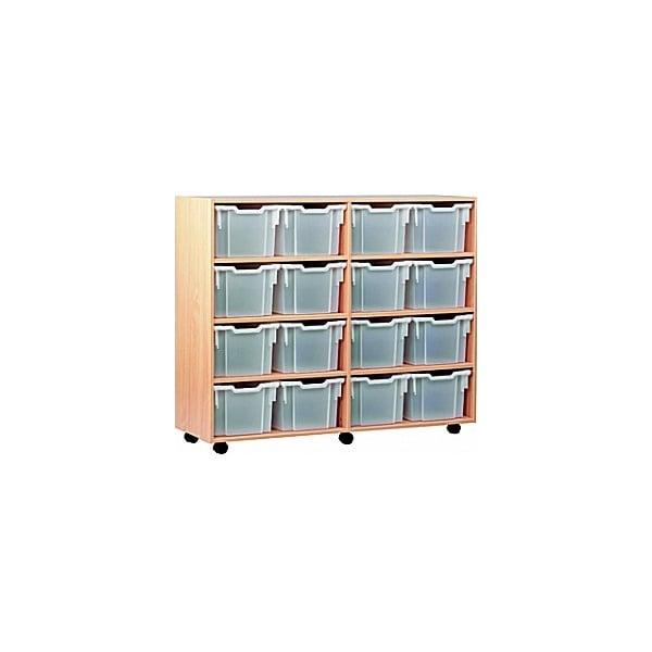 16 Tray Extra Deep Mobile Storage