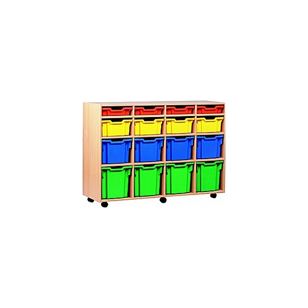 16 Tray Variety Mobile Storage