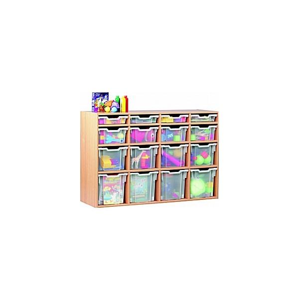 16 Tray Variety Static Storage