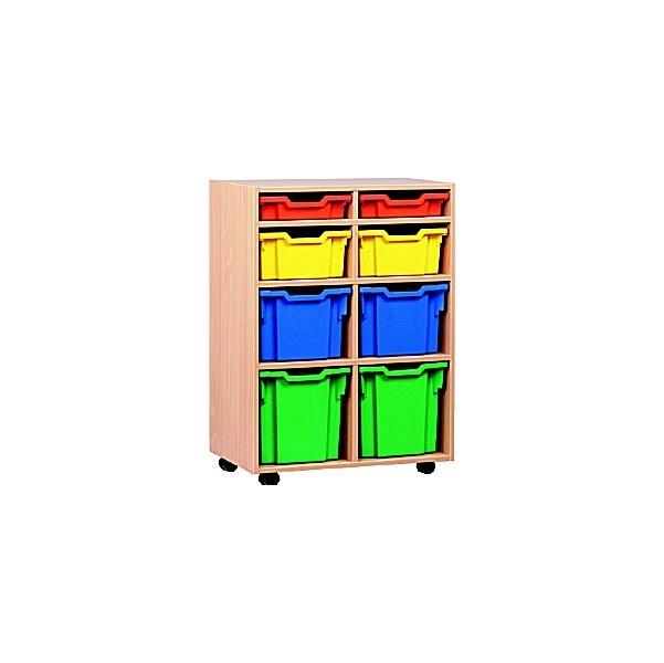 8 Tray Variety Mobile Storage