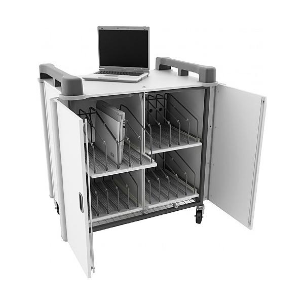LapCabby - 20 Laptop Vertical Front Open