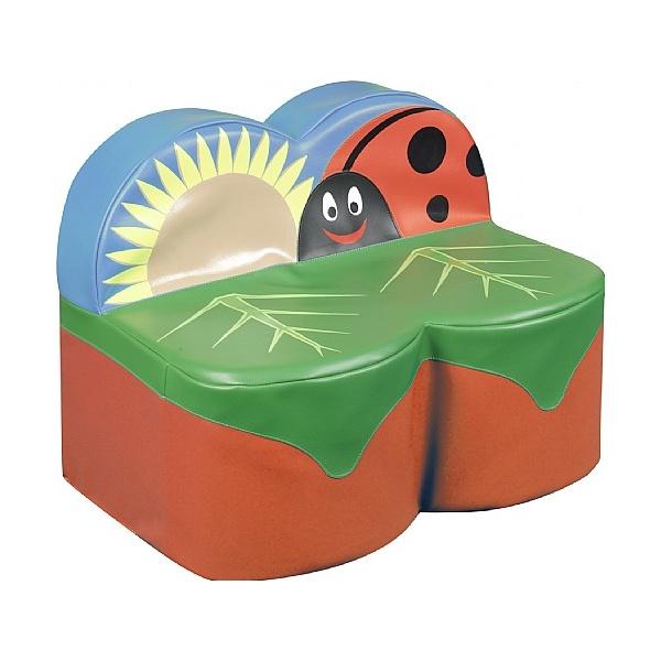 Back To Nature Ladybird Sofa 2 Seat