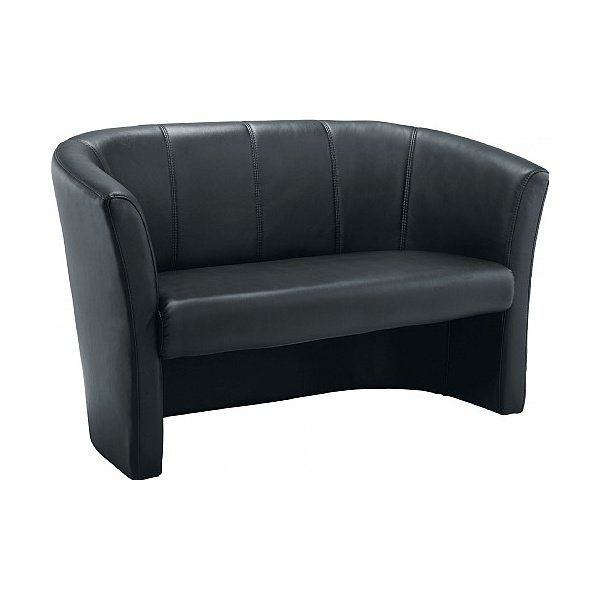 Renoir 2 Seater Leather Look Tub Chair