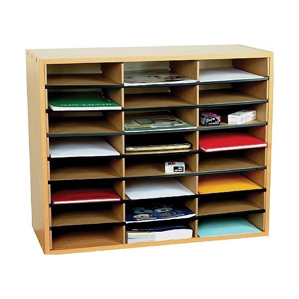24 Section Literature Sorter Unit