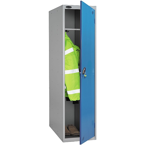 Police Locker With Active Coat