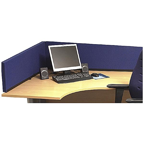 Angled Desk Screens