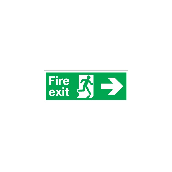 Fire Exit Right Arrow