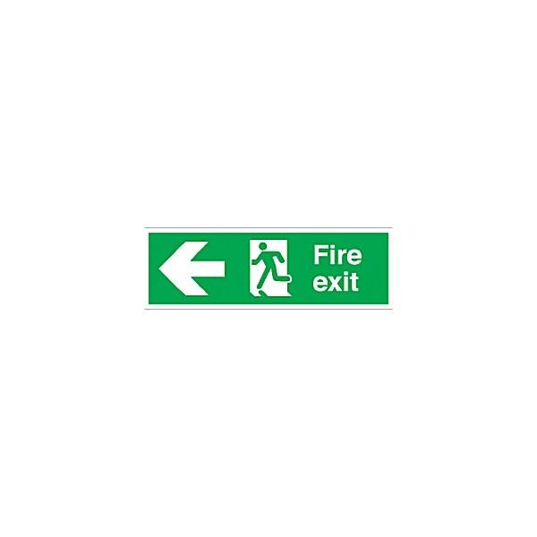 Fire Exit Left Arrow