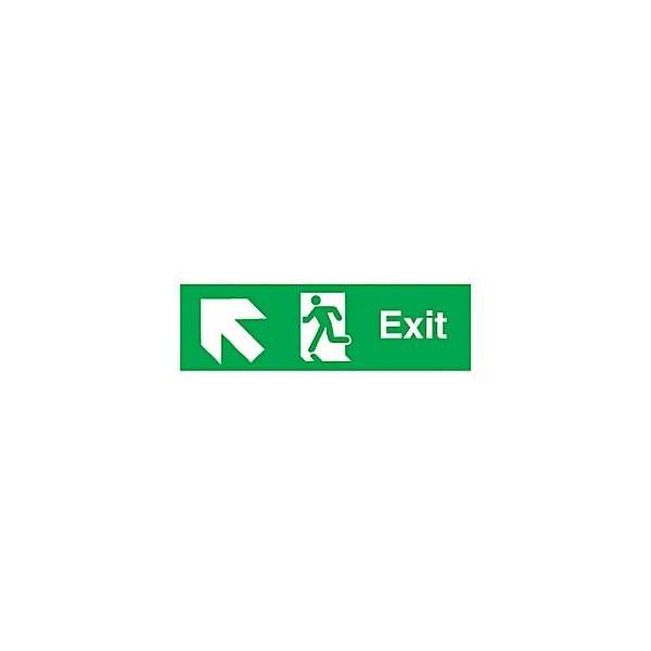 Exit Up Diagonal Left Arrow